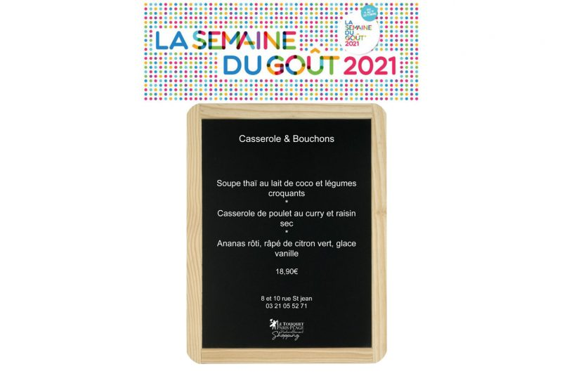 Casserole & Bouchons