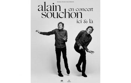 Alain Souchon en concert ici et là