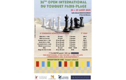 36ème Open International d'Echecs