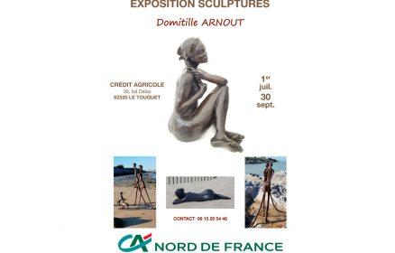 Exposition de sculptures Domitille Arnout