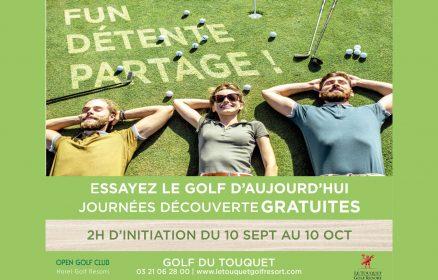 Golf – Journées découverte