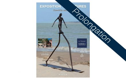 Exposition de sculptures Domitille Arnout