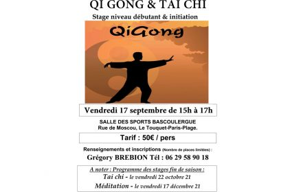 Stage de Qi Gong Tai chi